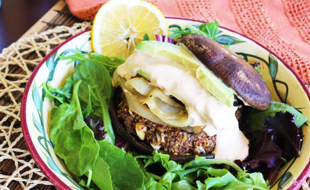 Quinoa Chipotle Burger