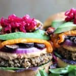 Quinoa Bean Rice Burger
