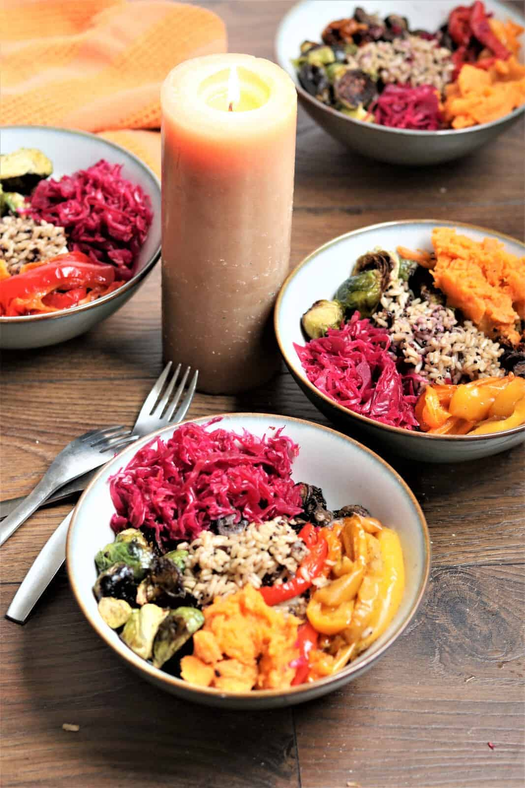 vegetable buddha bowl