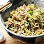 Jackfruit Fried Rice With Maple Ginger Glaze