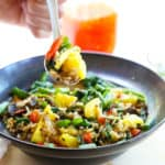 Vegetable Stirfry With Pineapple