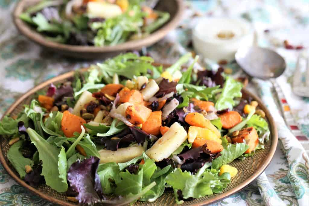 Roasted Harvest Vegetable Salad