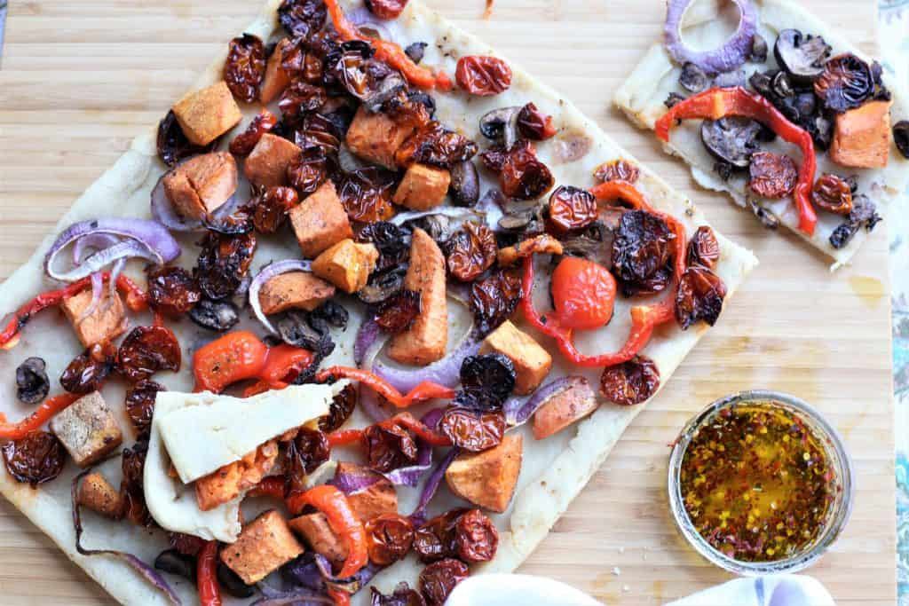 Grilled Vegetable Tart