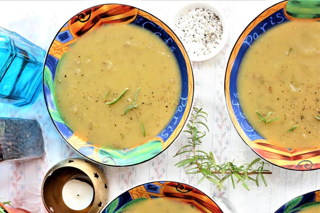 Creamy Rosemary Potato Soup