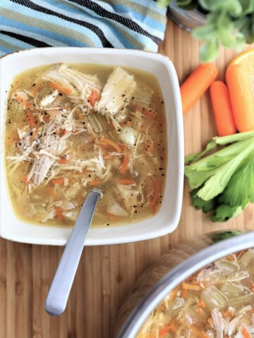 Homemade Chicken Soup Instant Pot