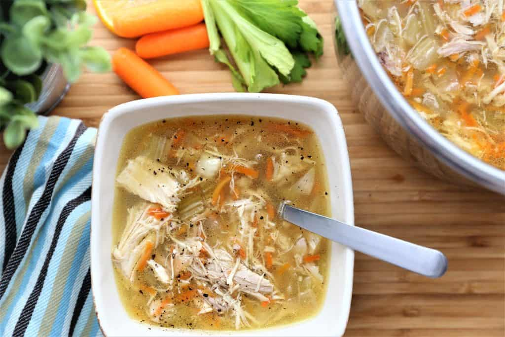 Homemade Chicken Soup-Instant Pot