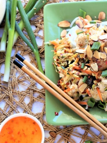 Tofu Vegetable Stir fry With Almond Sesame Sauce