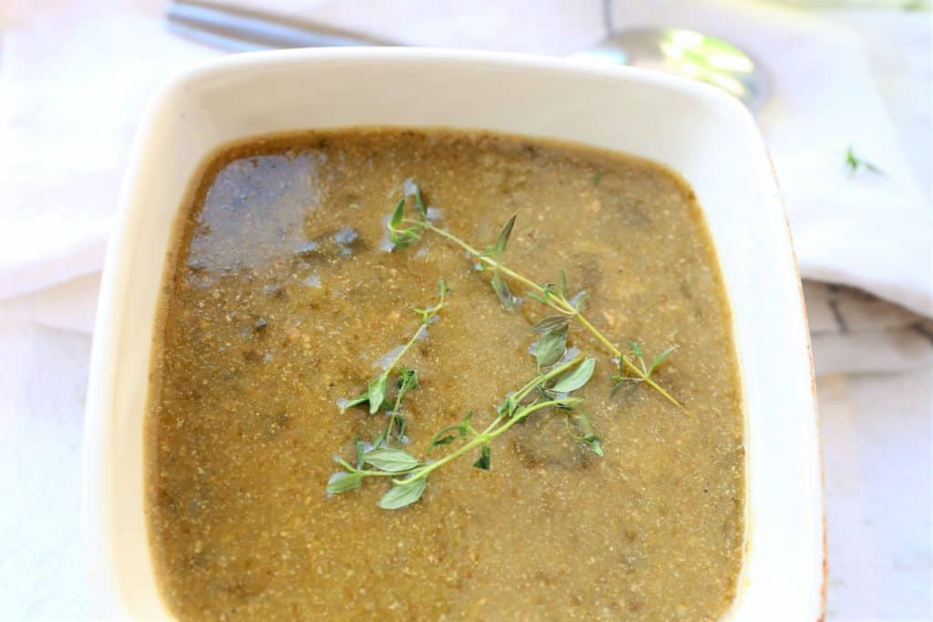 Top with fresh thyme