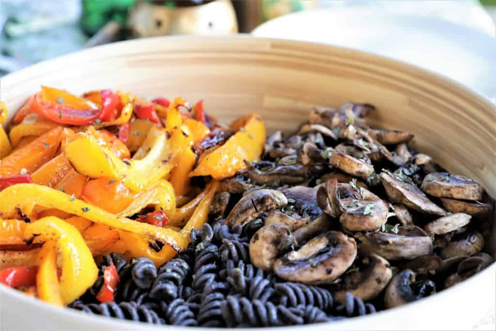 Black Bean Pasta Bowl