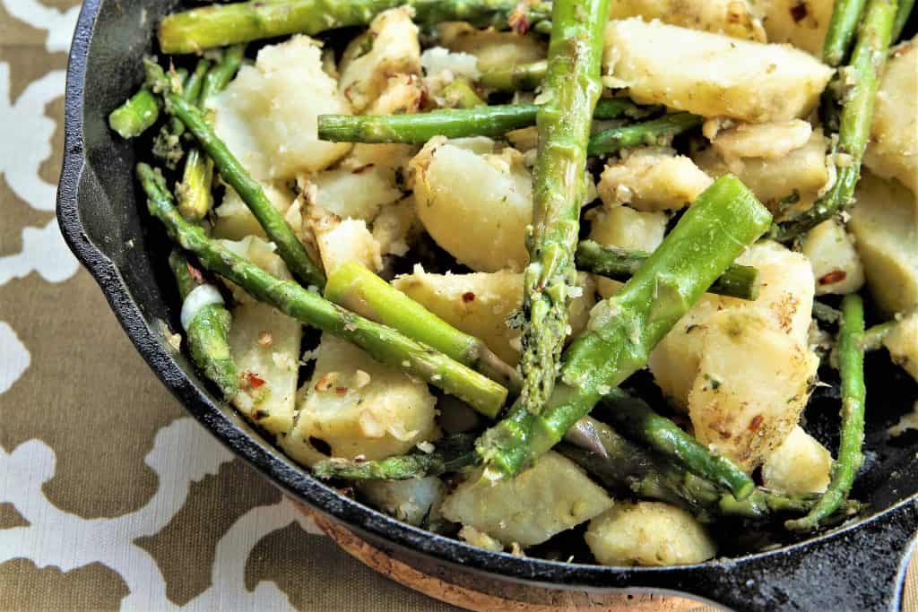 Asparagus and Potatoes