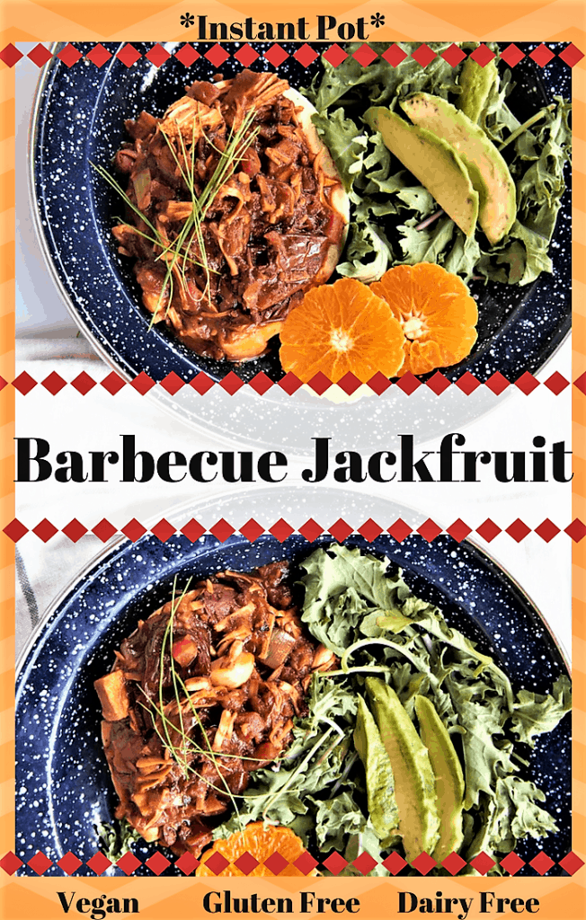 Barbecue Jackfruit Instant Pot