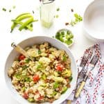 Lemon Garlic Mint Quinoa Salad vert