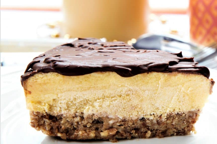 Mango Chocolate Cheesecake