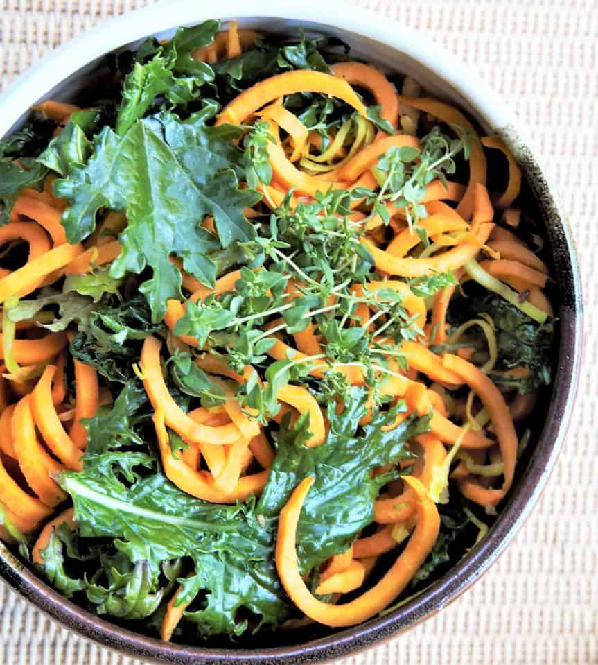 Sweet Potato Kale Bowl