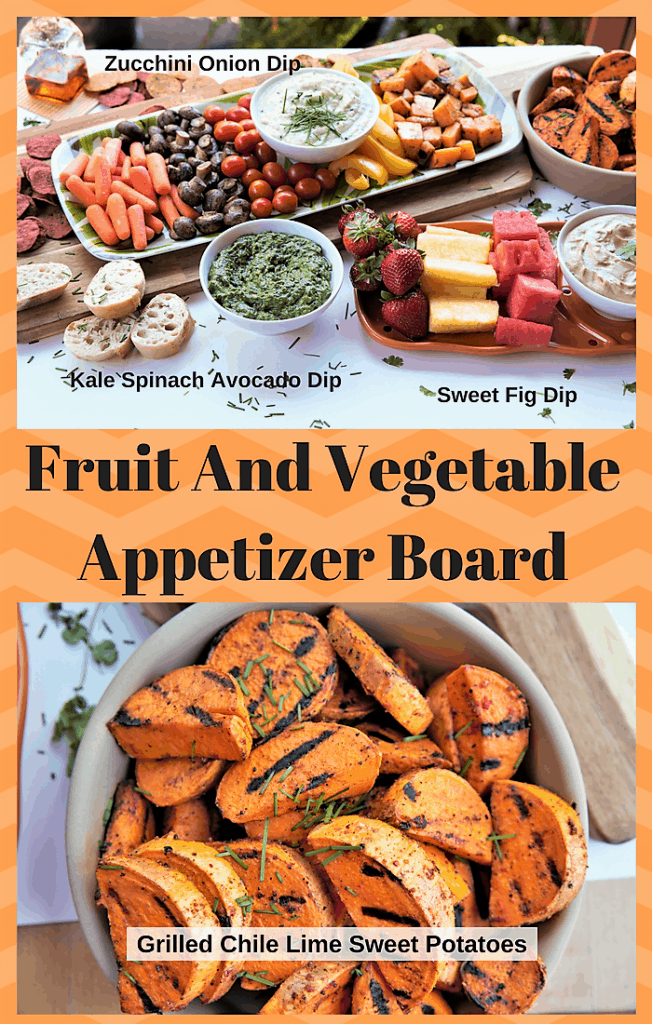 Fruit And Vegetable Appetizer Board