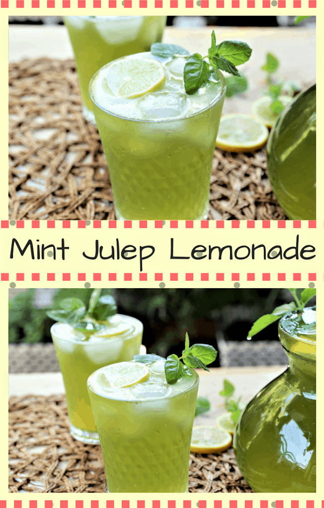 Mint Julep Lemonade