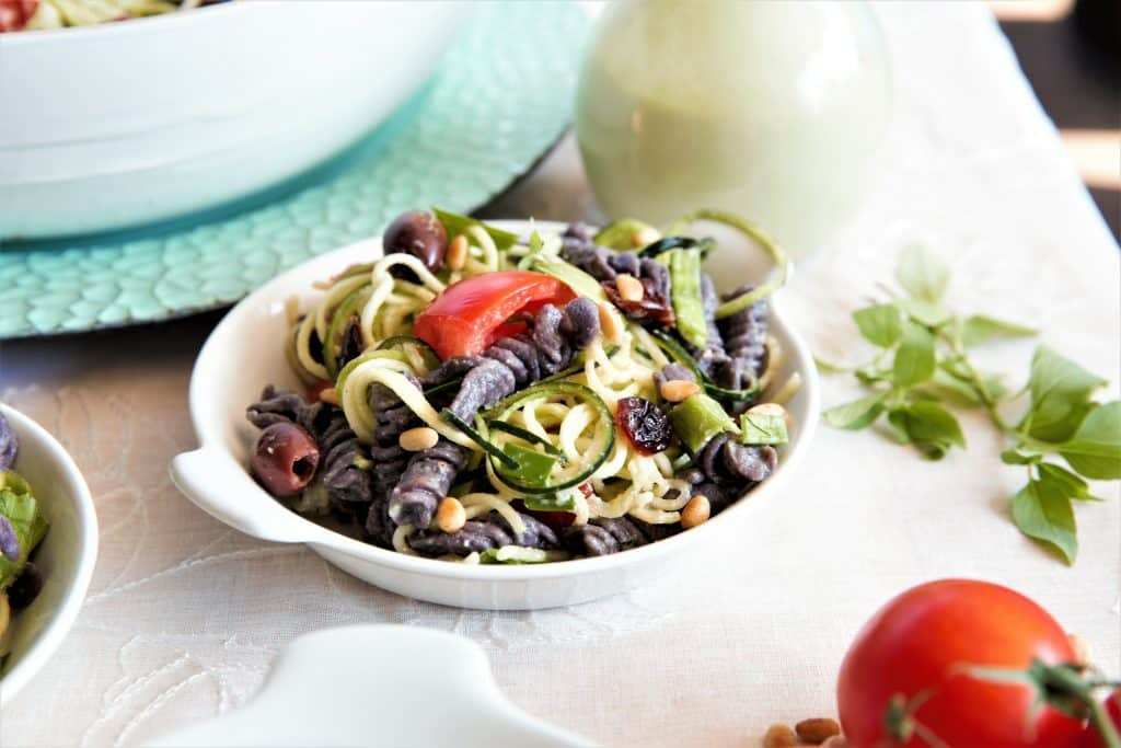 Black Bean Pasta Salad Instant Pot