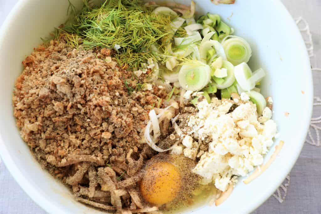 Add ingredients to bowl
