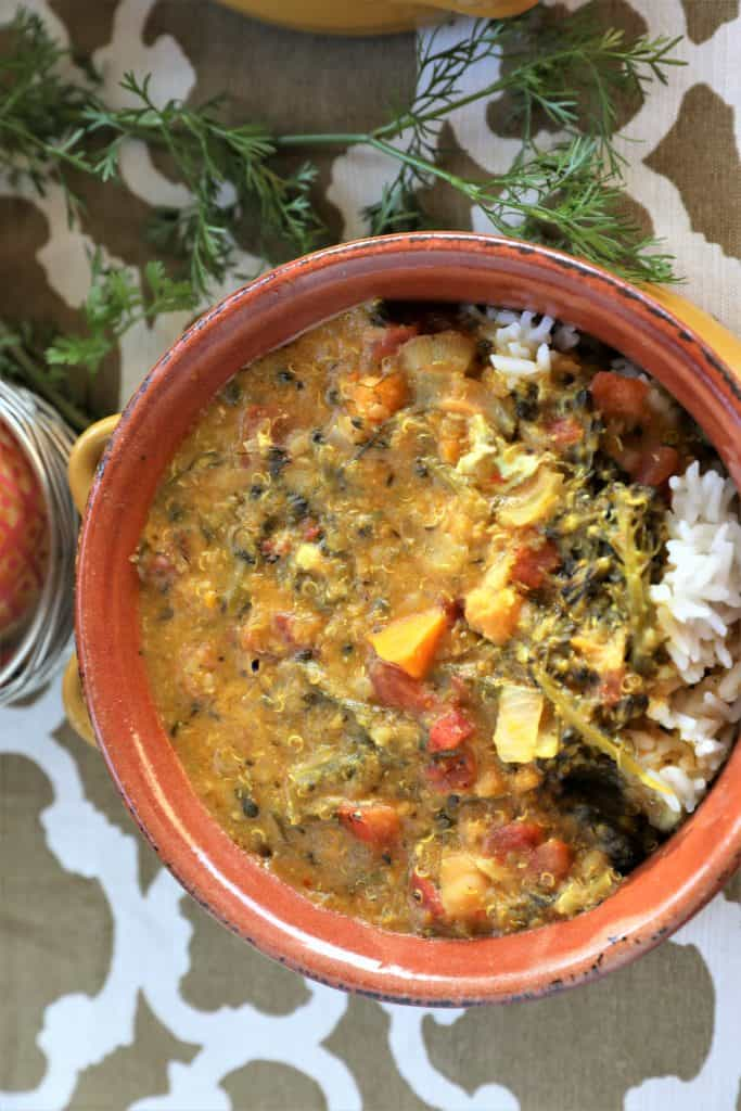 Instant Pot Vegetable Curry