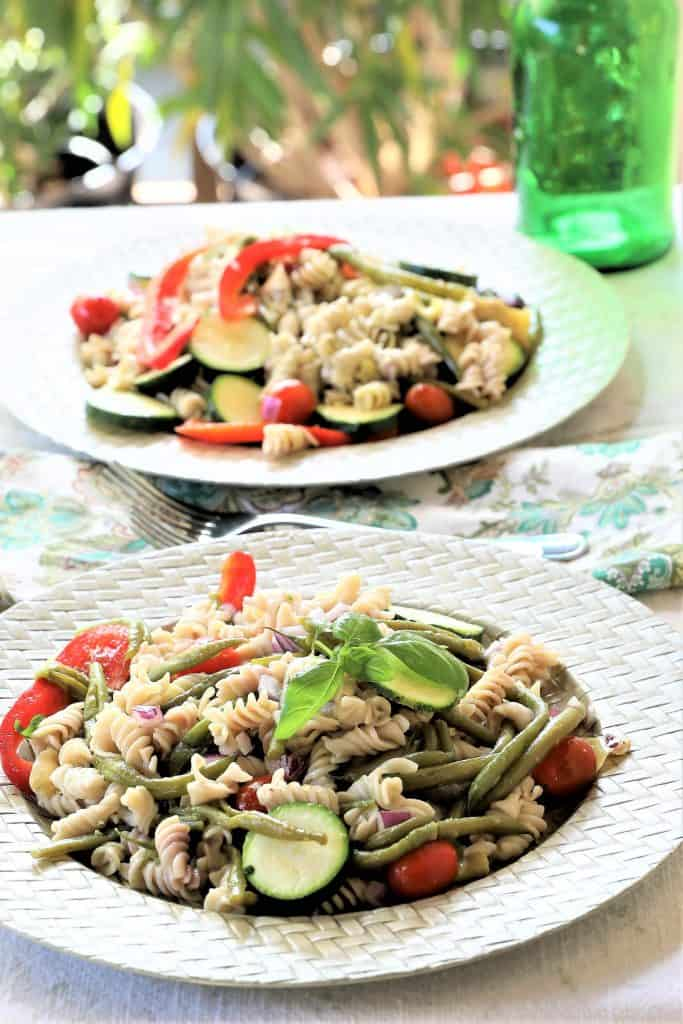 Servings of Provencal Pasta Salad