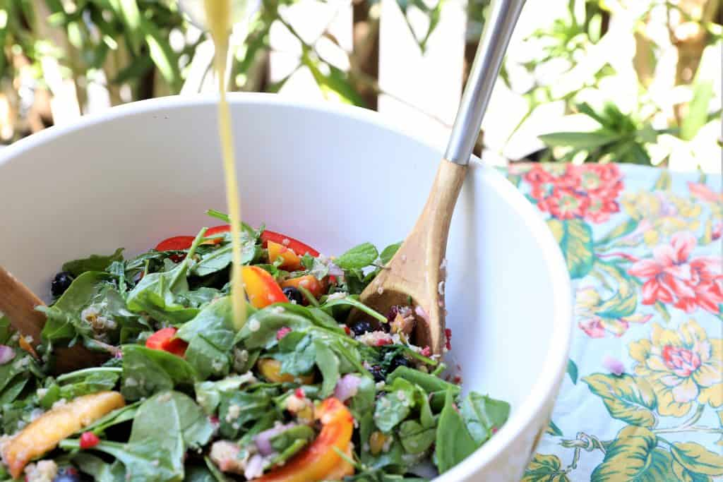 Drizzle dressing