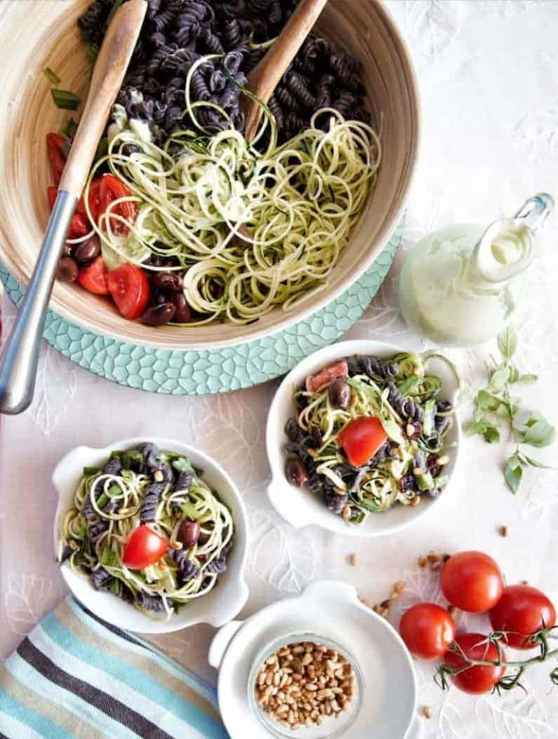 Black-Bean-Pasta-Salad