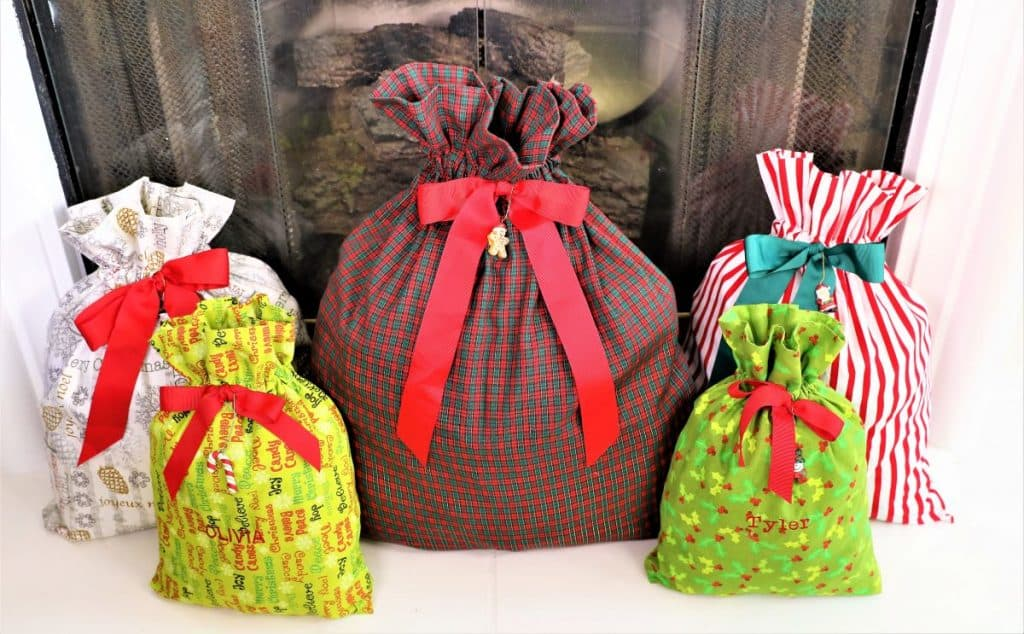 5 gift bags